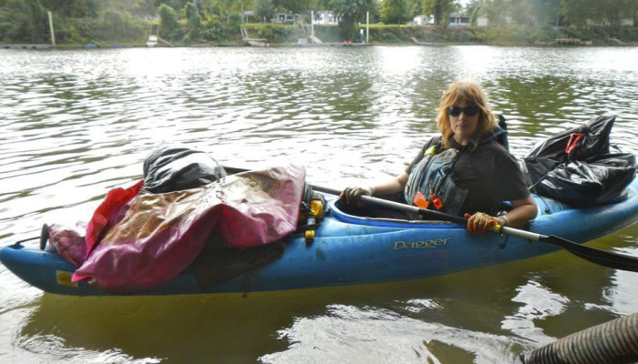 Paddle Without Pollution Co-founder Finds Safe Ways to Clean the Waters