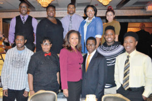 The WDGA Class of 2015 and Tamara Tunie, a Homestead Native (Center) Photo by Debbie Norrell